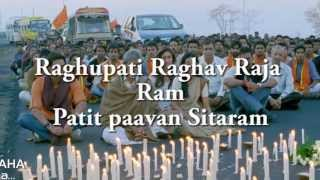RAGHUPATI RAGHAV LYRICS - Satyagraha Title Song HD