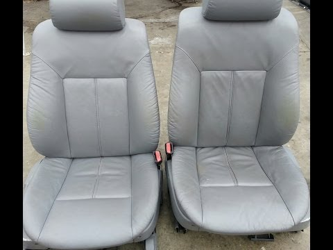 Front electric seats removal bmw 540i 525i 530i 740 e39 e38