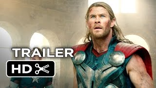 Avengers: Age of Ultron Official Trailer #2 (2015) - Avengers Sequel Movie HD