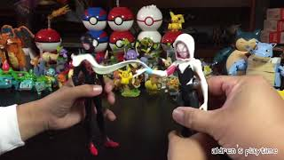 Hasbro Spider-Gwen Action Figure Spider-man Into the Spider-verse Opening