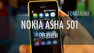 Nokia Asha 501 Overview