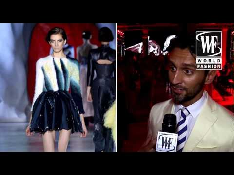 Ulyana Sergeenko Fall-Winter 2014-15 Couture Show Paris