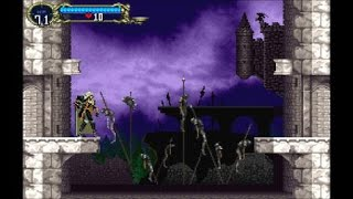 Castlevania Requiem: Symphony Of The Night-Alucard chats wih Death