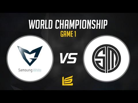 League of Legends World Championship 2014 QuarterFinals - Samsung White vs TSM Game 1 Highlights