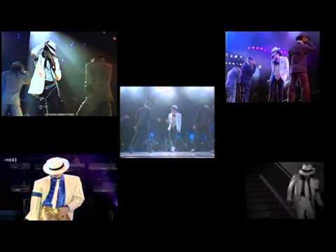 Michael Jackson Smooth Criminal Through Years 1988 2009 Comparison 100%