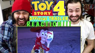 TOY STORY 4 | Official TRAILER - REACTION!!!