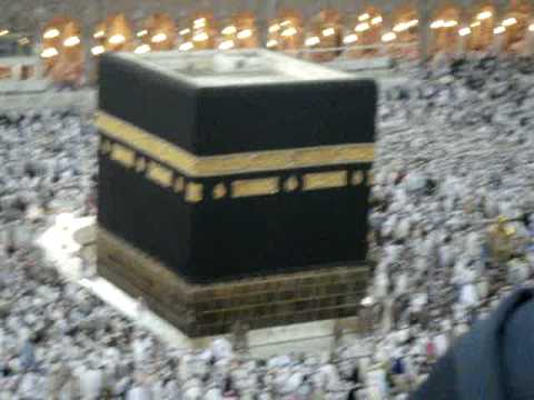 Beautiful View of Khana Kaba from Hight on Hajj 2009