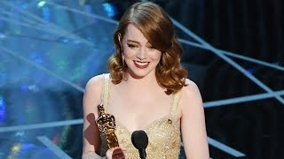 Emma Stone Wins Best Actress For La La Land & Praises Ryan Gosling In Speech At 2017 Oscars