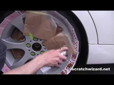 Alloy Wheel Repair Kit: Demonstration