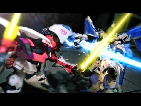 Gundam stop motion - Toys Battle 鋼彈停格動畫-模型大戰