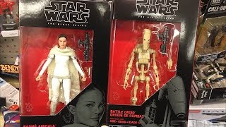 TOY HUNTING AT WALMART/TARGET FOR NEW STAR WARS & MORE