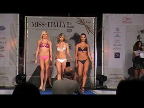 Bikini Catwalk,Miss Italia 2011 Selections,Miss Wella Liguria,S Stefano al Mare,Introduction HD