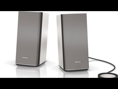 Bose Companion 20 Multimedia Desktop Speakers Review