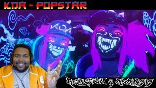 K/DA - POP/STARS! LEAGUE OF LEGENDS MUSIC VIDEO REACTION & ANALYSIS!!! | RIOT WHY YOU DO DIS!!!