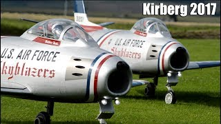 2017 model airplanes Airshow in Kirberg, Germany/ highlights