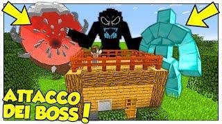 I BOSS GIGANTI ATTACCANO LA NOSTRA CASA! - Minecraft ITA
