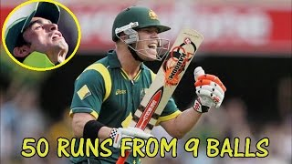 Australia Needed 50 Runs from 9 Balls || Aus Thrilling Win vs Pakistan