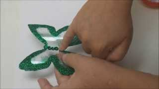 Recycled Crafts: a Plastic Bottle Butterfly - Recycled Bottles Crafts