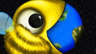 GIANT BEE EATS THE EARTH - Tasty Planet Forever Part 6   Pungence