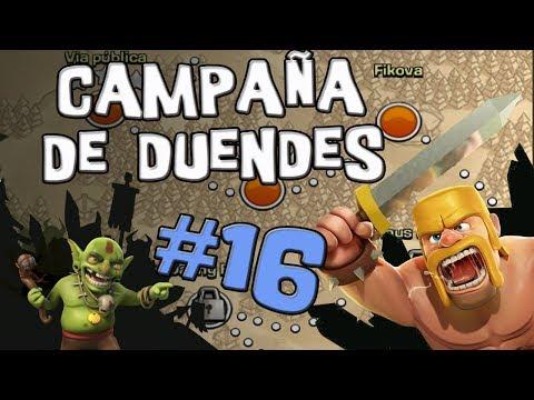 Almacén de oro | Campaña de Duendes #16 | Clash of Clans [Español]