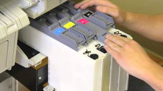 How to Load Ink Cartridge Epson SureColor F-Series F6070 & F7070 Printers.