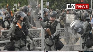 Hong Kong: Police in no mood for compromise