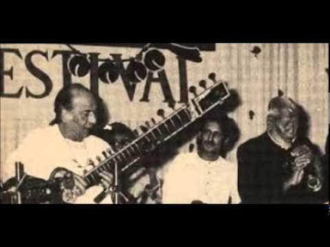 RARE U.S. Bismallah Khan and U.S. Vilayat Khan duetJugulbundi...