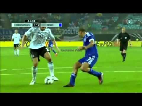 All goals Deutschland (alemanha Germany) 2 vs 0 Israel 1° half,friedly math 31 05 2012
