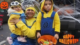 Halloween Trick or Treat Toy Hunt for Toy Surprises|| Trunk or Treat with Jai Bista Show