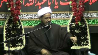 Eve of 2nd Muharram 1436 by Molana Amjid jaffr