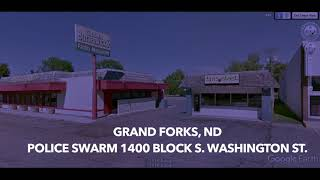 Police Swarm 1400 Block Of South Washington Street In Grand Forks