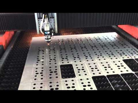 Лазерная резка на ЧПУ станке лазерной резки металла