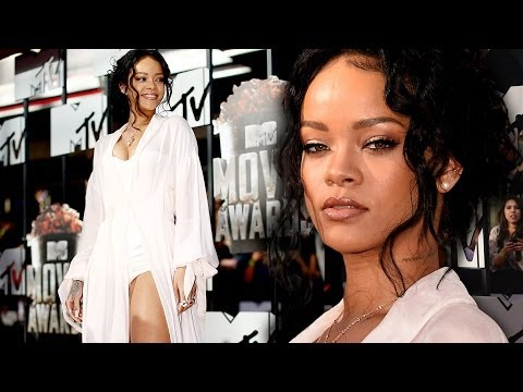 Rihanna on the Red Carpet MTV Movie Awards 2014