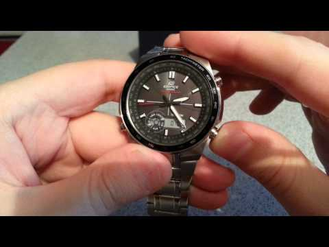 Часы Casio Edifice EFA-134 обзор и моё мнение