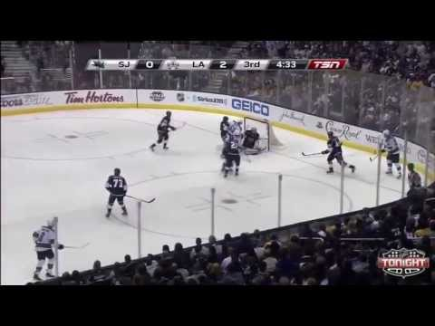 San Jose Sharks Vs Los Angeles Kings - NHL Playoffs 2013 Game 1 - Full Highlights 5/14/13