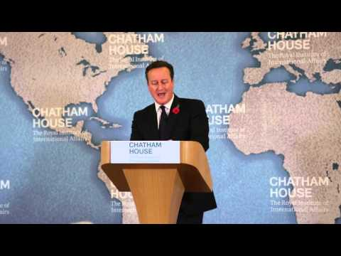 David Cameron on the Future of Britain's Relationship with the EU