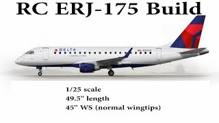RC ERJ-175 Depron Build Part One: Fuselage *HOW TO BUILD AN RC AIRLINER*