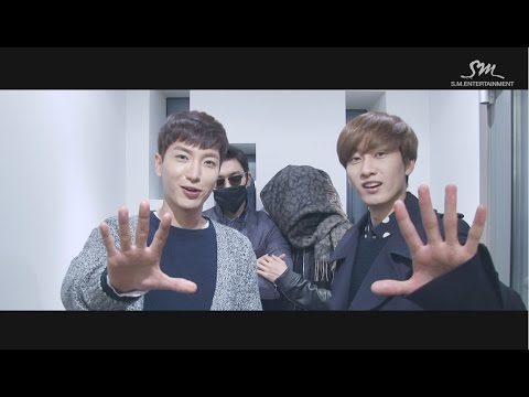 Super Junior The 7th Album 'mamacita' Music Video Event!! - High-five Event video