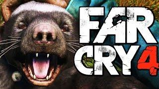 Far Cry 4 Funny Moments (Hunting Rare Honey Badger, Liberating a Fortress)