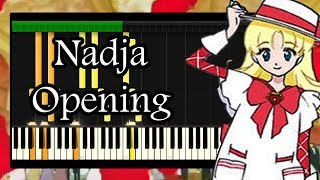 Ashita no Nadja Opening -  Piano Synthesia