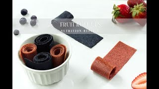 Fruit Roll Ups (Fruit Leather) | Vegan, Paleo