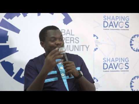 #ShapingDavos in Accra 2016 - Farmerline Alloysius Attah (1) #ShapingJobs