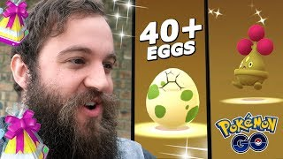 I'VE NEVER BEEN SO LUCKY WITH SHINY HATCHES! (NEW 2KM EGG GIFT EVENT) - POKEMON GO