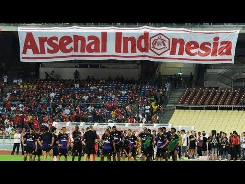 Jelang Indonesia vs Arsenal (14 Juli 2013)