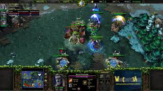 Check(NE) vs SIL东城冠希哥(UD) - Warcraft 3: Reforged (Classic) - RN4404