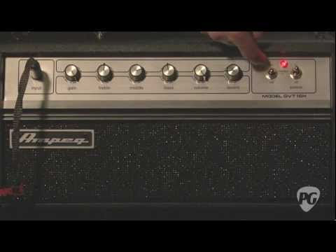 Video Review - Ampeg GVT15H Guitar Amplifier