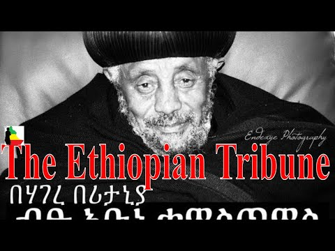 Reese Adbarat London Debre Tsion  Interview with Abune Qewostos May 27 2013