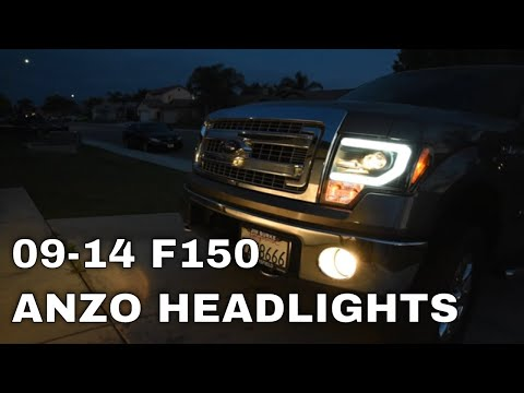 Install & Review: Spyder LED Halo Projector Headlights (2009-2014 F150)