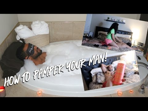 HOW I PAMPER MY FIANCE | PAMPER ROUTINE