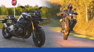 Yamaha MT10 SP │ Test/Review │ Die Wheelie-Maschine